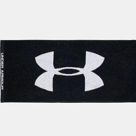 アンダーアーマー タオル UA Towel M 2.0 1353581 001 W80×H34cm : ブラック UNDER ARMOUR