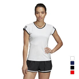 【8/5はエントリーでP10倍!】 アディダス レディース テニス 半袖Tシャツ TENNIS CLUB 3ST TEE (DU0958) adidas 191011tennis