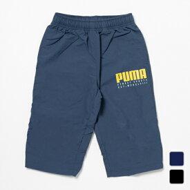 プーマ ジュニア キッズ・子供 ウインドクォーターパンツ ALPHA ナイロン 3/4 パンツ 583220 スポーツウェア PUMA 20clearancewear 0604point