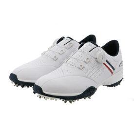 キャロウェイ ゴルフシューズ エアロスポーツ AEROSPORT 20 (2470996501) メンズ ゴルフ ダイヤル式スパイク 3E : ホワイト×ネイビー Callaway