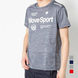 【9/18〜25】 買えば買うほど★ 最大10%OFFクーポン デサント メンズ 半袖機能Tシャツ ブリーズプラス Tシャツ DMMPJA61 スポーツウェア DESCENTE 20clearancewear 0529T