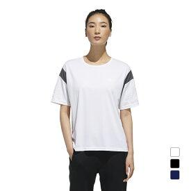 【7/30〜8/2】 買えば買うほど★ 最大10%OFFクーポン アディダス レディース 半袖機能Tシャツ W MH カラーブロック ルーズTシャツ GUN70 スポーツウェア adidas 20clearancewear 191011aparel 20clearancewear 0529T