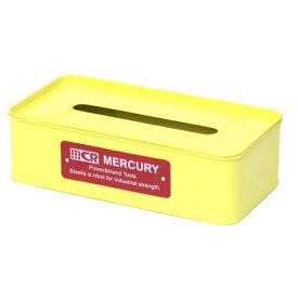 マーキュリー ブリキティッシュボックス イエロー (MEBUTBYE) アウトドア キャンプ 小物 MERCURY