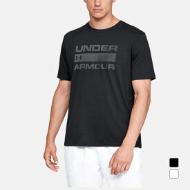 最大10%OFFクーポン【スーパーSALE限定】 アンダーアーマー メンズ 半袖Tシャツ UA TEAM ISSUE WORDMARK SS 1358570 スポーツウェア UNDER ARMOUR 20clearancewear 0604point 20clearancewear