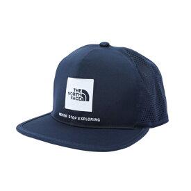 【4/10は最大P21倍!エントリー&楽天カード&買い回り】 ノースフェイス 陸上 ランニング キャップ TECH LOGO CAP NN02078 UN 帽子 : ネイビー THE NORTH FACE