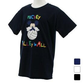 【7/10はエントリーでP10倍!】 ディズニー ジュニア(キッズ・子供) バレーボール 半袖Tシャツ (DN-8VW4000TSMK) Disney