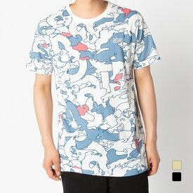 アシックスタイガー メンズ 半袖Tシャツ JSY AOP SS T 2191A225 スポーツウェア asicsTiGER