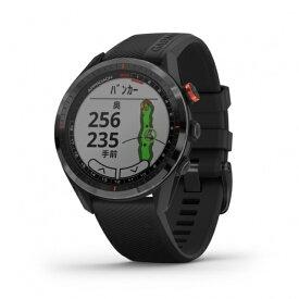 ガーミン アプローチ S62 ブラック (0100220020) 腕時計型 心拍計搭載 フルカラータッチパネル GPS ゴルフナビ 距離測定器 ウォッチ 距離計 時計 GARMIN