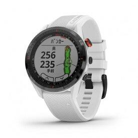 距離計 ガーミンアプローチ S62 ホワイト (0100220021) 腕時計型 心拍計搭載 フルカラータッチパネル GPS ゴルフナビ 距離測定器 ウォッチ 時計 GARMIN