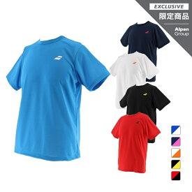 バボラ アルペンオリジナル アルペン限定 メンズ レディース テニスウェア 半袖T シャツ BTUNJA37A 練習 トレーニング 用 BabolaT UVカット 紫外線対策