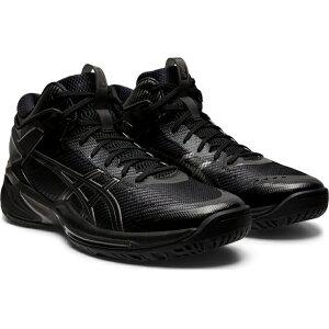 【6/20】 買えば買うほど★ 最大10%OFFクーポン アシックス GELBURST ゲルバースト 24 1063A015 001 メンズ バスケットボール シューズ バッシュ 2E : ブラック×ブラック 黒 asics