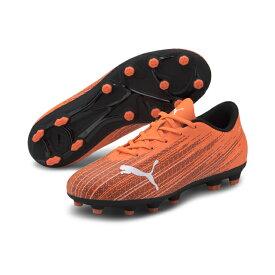 プーマ ウルトラ 4.1 HG Jr ULTRA 106102 ジュニア(キッズ・子供) サッカー スパイクシューズ 2E : オレンジ×ホワイト PUMA 2009pm