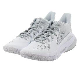 アンダーアーマー UA HOVR Havoc 3 3023088 メンズ バスケットボール シューズ バッシュ : ホワイト×グレー 白 UNDER ARMOUR