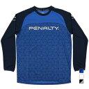 ペナルティ メンズ サッカー/フットサル 長袖シャツ プラシャツ PU090AP PENALTY