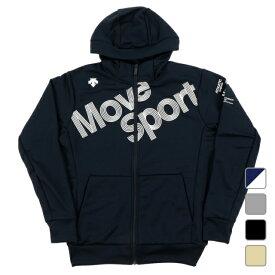 デサント メンズ スウェットフルジップ スウェットフルジップパーカー DMMQJF24 スポーツウェア DESCENTE 20fwclwear