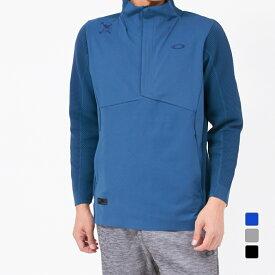 最大10%OFFクーポン【楽天スーパーSALE限定】 オークリー ゴルフ 長袖 セーター SKULL SYNCHRONISM OPTIMUM MOCK (FOA401622) メンズ OAKLEY