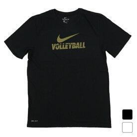 最大10%OFFクーポン【スーパーSALE限定】 ナイキ メンズ バレーボール 半袖Tシャツ MENS TRAINING TEE 561416 VB70 NIKE