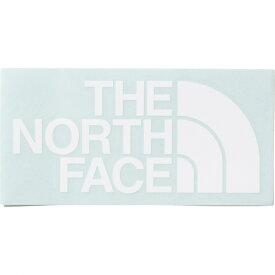 ノースフェイス TNF カッティングステッカー ホワイト (NN32013 W) キャンプ 雑貨 ステッカー THE NORTH FACE