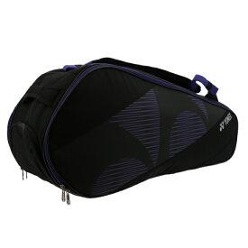 【10/15〜10/16はエントリーでP5倍!】 ヨネックス ラケットバッグ6 BAG2012R テニス バドミントン 6本用 : ブラック×パープル YONEX