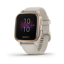 ガーミン Venu Sq Music Light Sand/Rose Gold 0100242671 スマートウォッチ GPS 光学心拍計 ランニングウォッチ Suica対応 腕時計 GARMIN