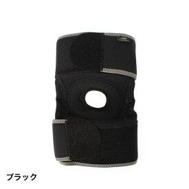 ティゴラ(TIGORA) ユニセックス サポーター 膝用サポーター (左右兼用) : ブラック (TR-3F0146SU)
