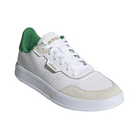 【7/30〜8/2】 買えば買うほど★ 最大10%OFFクーポン アディダス コートロック M COURTROOKM FY9660 メンズ スニーカー : ホワイト×グリーン adidas 191011shoes