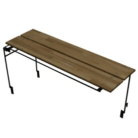【3/1限定】買えば買うほど★最大10%OFFクーポン ネイチャートーンズ キッチンカウンターテーブル(本体) オプションテーブル ダークブラウン (OWT-DB) キャンプ テーブル Nature tones