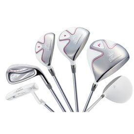 ウィルソン レディース クラブセット TIARA MODA ティアラモーダ 8本セット ゴルフ Wilson ゴルフセット