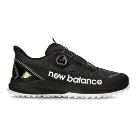 ニューバランス ゴルフシューズ FuelCell 1001V3 SL_ (MGS10012E) メンズ ゴルフ ダイヤル式スパイクレスシューズ 2E : ブラック New Balance