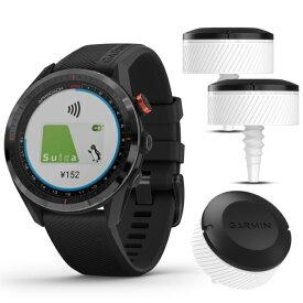 距離計 ガーミン アプローチ S62 CT10(3個セット)付き限定パック ブラック (0100220020) 心拍計 フルカラータッチパネル GPS ゴルフナビ ウォッチ 時計 GARMIN
