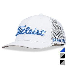 【6/15】 買えば買うほど★ 最大10%OFFクーポン タイトリスト ゴルフウェア キャップ ツアースナップバックメッシュキャップ HJ1CTSBM (0353186013) メンズ Titleist