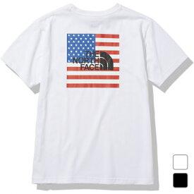 2021春夏 ノースフェイス メンズ アウトドア 半袖Tシャツ S/S National Flag Tee ショートスリーブナショナルフラッグティー NT32145 THE NORTH FACE