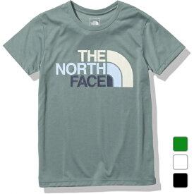2021春夏 ノースフェイス レディース アウトドア 半袖Tシャツ S/S Colorful Logo Tee ショートスリーブカラフルロゴティー NTW32134 THE NORTH FACE