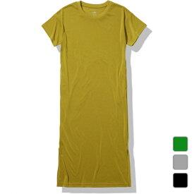 2021春夏 ノースフェイス レディース アウトドア 半袖Tシャツ ワンピース S/S Onepiece Crew ショートスリーブワンピースクルー NTW32145 THE NORTH FACE