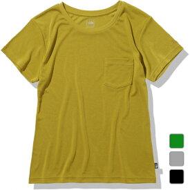 2021春夏 ノースフェイス レディース アウトドア 半袖Tシャツ S/S Pocket Tee ショートスリーブポケットティー NTW32148 THE NORTH FACE