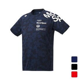 デサント メンズ 半袖機能Tシャツ ジャガードハンソデTシャツ DMMRJA55 スポーツウェア DESCENTE 0529T