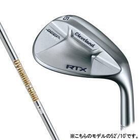 クリーブランド RTX DEEP FORGED ウェッジ ゴルフ ダイナミックゴールド(NEWデザイン) 52゜/10゜ S200 2021年 メンズ Cleveland