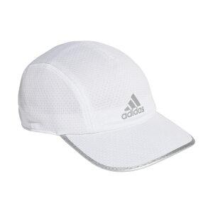 【6/20】 買えば買うほど★ 最大10%OFFクーポン アディダス 陸上 ランニング キャップ AERO RDY RUN MESH CAP GJ8306 帽子 : ホワイト adidas 191011running