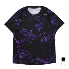 【6/15】 買えば買うほど★ 最大10%OFFクーポン オークリー メンズ テニス 半袖Tシャツ SLANT GRAPHIC TEE 3.0 FOA402389 OAKLEY