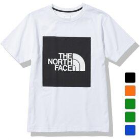 2021春夏 ノースフェイス メンズ 半袖Tシャツ S/S Colored Square Logo Tee ショートスリーブカラードスクエアロゴティー NT32135 THE NORTH FACE
