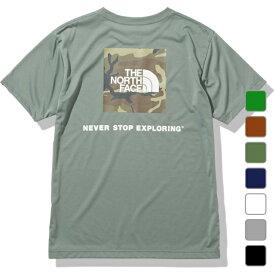 2021春夏 ノースフェイス メンズ 半袖Tシャツ S/S Square Camofluge Tee ショートスリーブスクエアカモフラージュティー NT32158 THE NORTH FACE