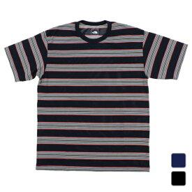 2021春夏 ノースフェイス メンズ アウトドア 半袖Tシャツ S/S Multi Border Tee ショートスリーブマルチボーダーティー NT32138 THE NORTH FACE