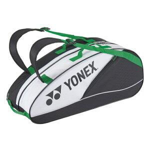 【4/20限定】買えば買うほど★最大10%OFFクーポン ヨネックス ラケットバック6 リュック付 BAG2132R テニス ラケットバッグ : ホワイト×ブラック YONEX
