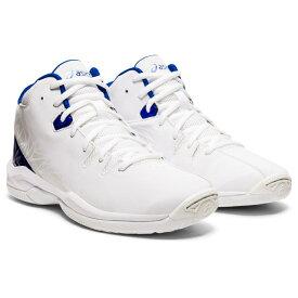 【6/15】 買えば買うほど★ 最大10%OFFクーポン アシックス ゲル インプルーブ GEL-IMPROVE 1124A005 ジュニア(キッズ・子供) バスケットボール シューズ バッシュ 2E : ホワイト×ブルー asics