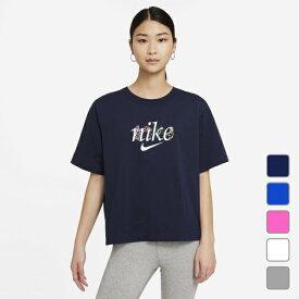 ナイキ レディース 半袖Tシャツ ウィメンズ NSW ボクシー ネイチャー S/S Tシャツ DD1457 スポーツウェア NIKE