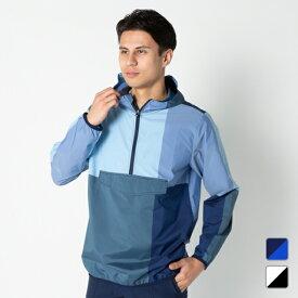 アディダス ゴルフウェア ADICROSS アディクロス マルチパターン アノラックジャケット (GLP63) メンズ 長袖ウインドブレーカー adidas