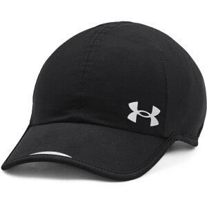 【6/20】 買えば買うほど★ 最大10%OFFクーポン アンダーアーマー 陸上/ランニング キャップ UA Ws Iso-Chill Stretch Run Cap 1361542 001 帽子 : ブラック UNDER ARMOUR