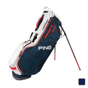 【6/20】 買えば買うほど★ 最大10%OFFクーポン ピン キャディバッグ HOOFER 9型 軽量 (34730) 軽量スタンドバッグの定番モデル 両肩で楽に運べるダブルストラップショルダー メンズ ゴルフ PING