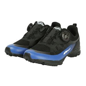 ダイヤルドライブ 21SS ダイヤルDRIVE防水 O47128-17 BK/BL ジュニア(キッズ・子供) スニーカー : ブラック×ブルー DIAL DRIVE