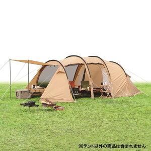 【6/15】 買えば買うほど★ 最大10%OFFクーポン イグニオ 2ルーム トンネル型 ドームテント IG19410TT キャンプ ドームテント 大型 4人用 IGNIO